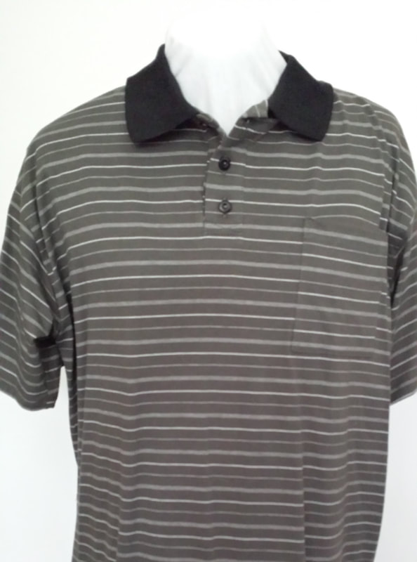 Open Back Polo Shirts Style  Km Polo s s. Sizes  Large Colours  Gray Reg.   53.95. Sale   49.95 154f38f04